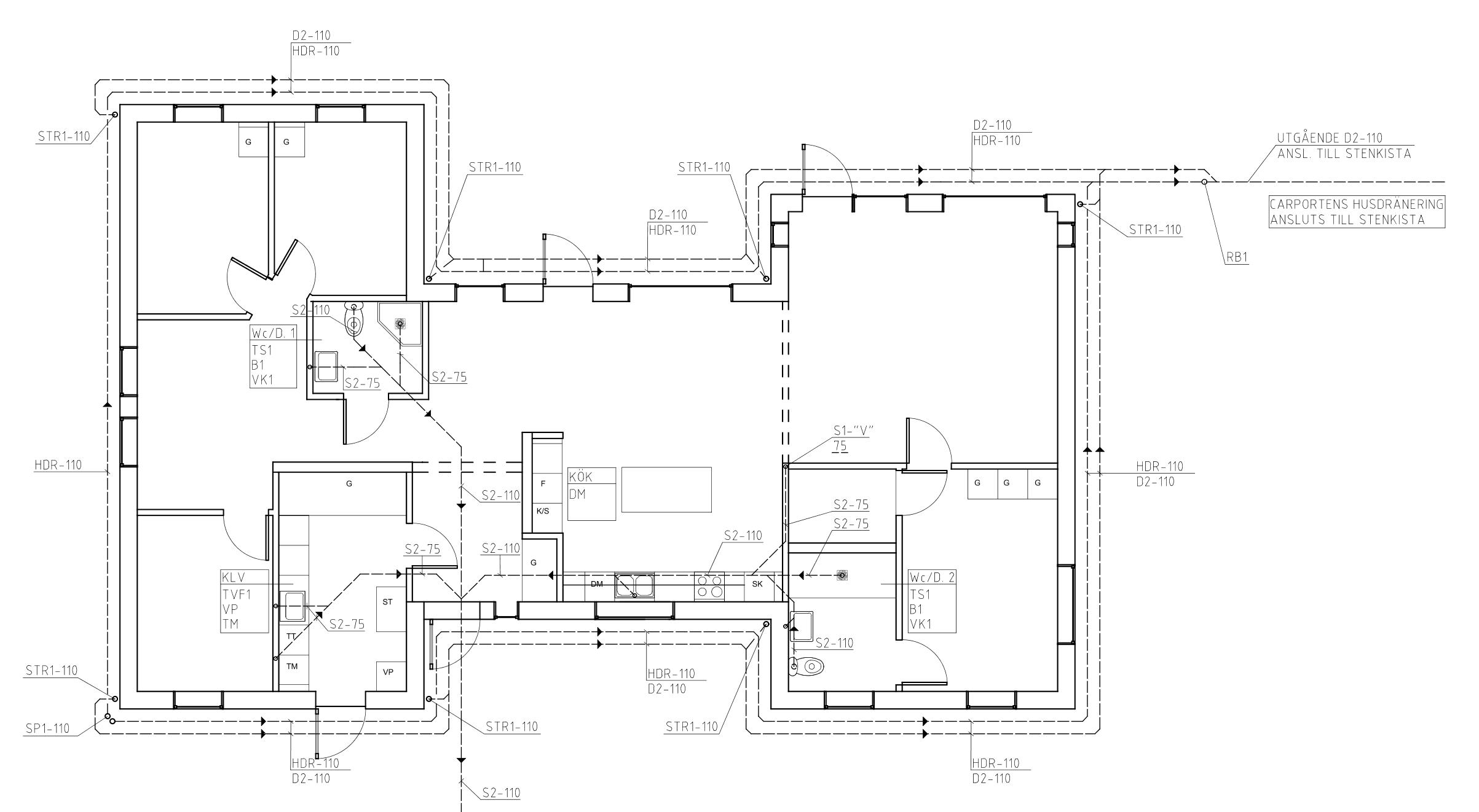 LT Ingenjörsbyrå AB hjälper dig med alla dina VA-ritningar för ditt projekt.